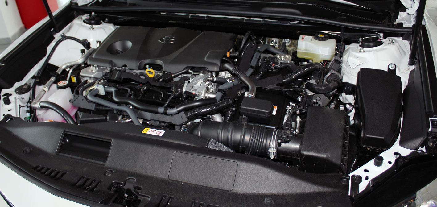 Toyota Camry motortér