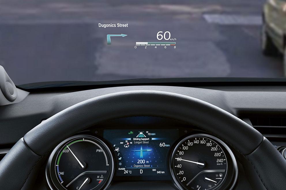 Toyota Camry Head-Up Display