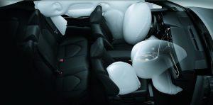 Toyota Camry légzsákok