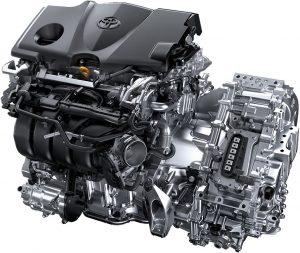Toyota Camry Hybrid hajtás